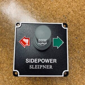 8845 Sleipner Side Power Black Pre 1998 Joystick Panel 12/24V