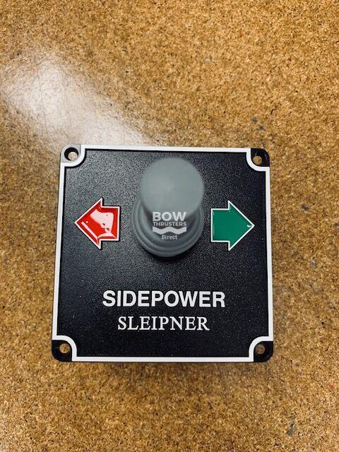 8845 Sleipner Side Power Black Pre 1998 Joystick Panel 12/24V