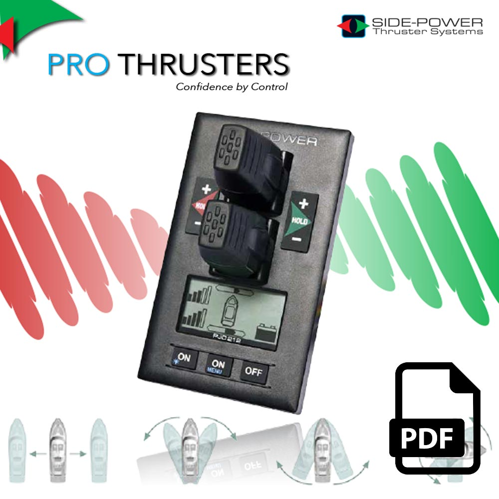 bow thrusters controller side power pro thrusters control thruster systems pdf boat