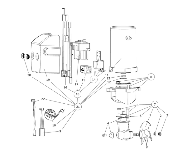 se40 spares drawing